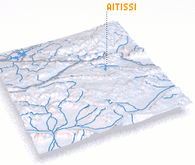 3d view of Aït Issi