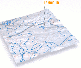 3d view of Izmaoun