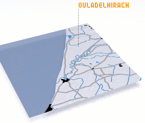 3d view of Oulad el Hirach