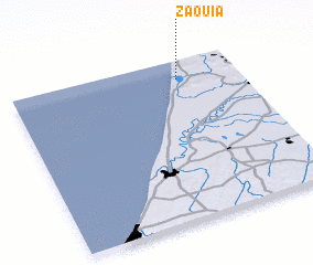 3d view of Zaouia