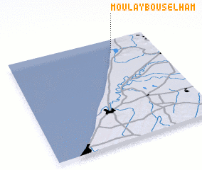 3d view of Moulay Bou Selham