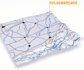 3d view of Oulad Hamdane