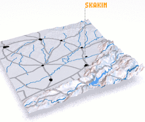 3d view of Skakim