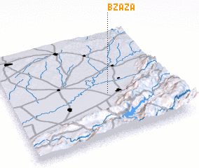 3d view of Bzaza