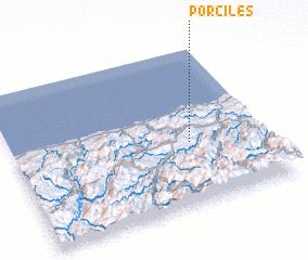 3d view of Porciles