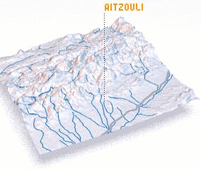 3d view of Aït Zouli