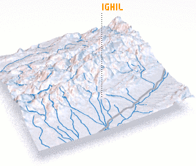 3d view of Ighil