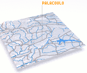 3d view of Palaçoulo