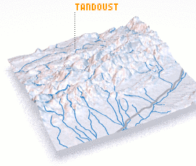 3d view of Tandoust