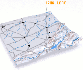 3d view of Irhallene