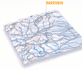 3d view of Marrubio