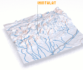 3d view of Imi n'Talat