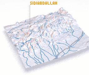 3d view of Sidi Abdallah