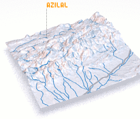 3d view of Azilal
