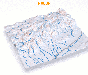 3d view of Taouja