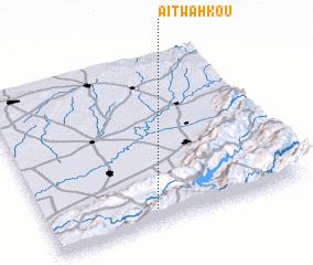 3d view of Aït Wahkou
