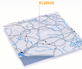 3d view of El Guijo