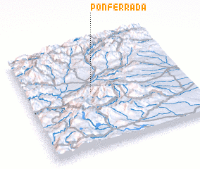 3d view of Ponferrada