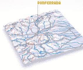 3d view of Ponferrada