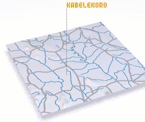 3d view of Kabélékoro