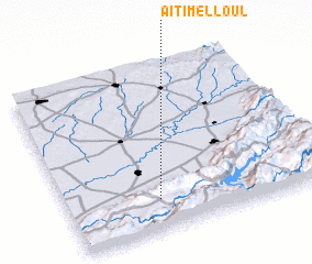 3d view of Aït Imelloul