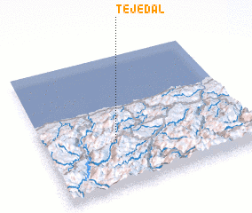 3d view of Tejedal