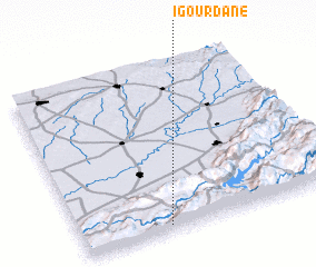 3d view of Igourdane