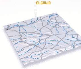 3d view of El Guijo
