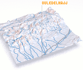 3d view of Ouled el Hajj