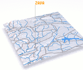 3d view of Zava
