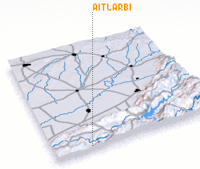 3d view of Aït Larbi