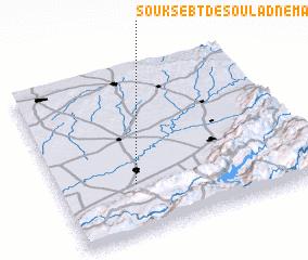 3d view of Souk Sebt des Oulad Nemâa