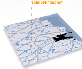 3d view of Tankardsgarden