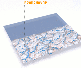 3d view of Brañamayor