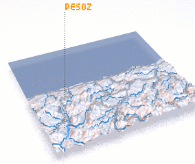 3d view of Pesoz