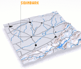 3d view of Sidi Mbark