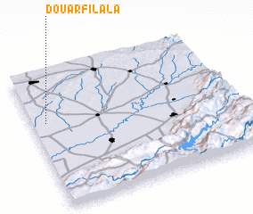 3d view of Douar Filala