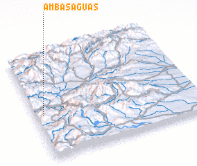 3d view of Ambas Aguas