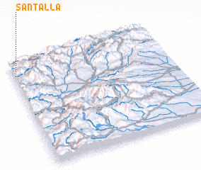 3d view of Santalla
