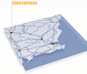 3d view of Goresbridge