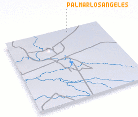 3d view of Palmar Los Angeles