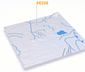 3d view of Pesoé