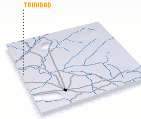 3d view of Trinidad