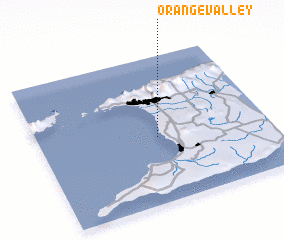 3d view of Orange Valley