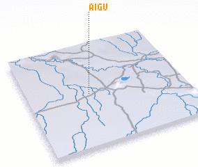3d view of Aigú