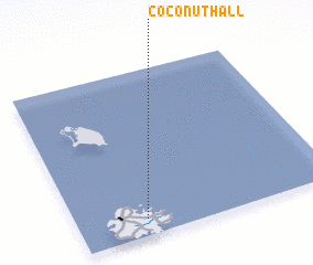 3d view of Coconut Hall