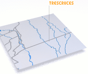 3d view of Tres Cruces