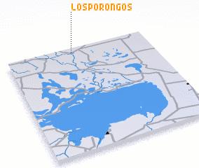 3d view of Los Porongos