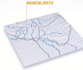 3d view of Agua Caliente
