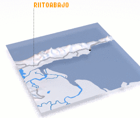 3d view of Riito Abajo